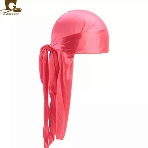 SILKY Du-Rag 🔥 WATERMELON 🍉 Wave-Cap (pirates)
